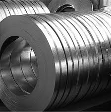 Tapes cold-rolled of spring steel