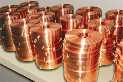 Tape copper, tape Copper from the producer, tape