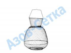 """Metal cage of """"Salmo"""" for fish"""