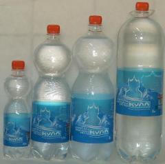 Крымская природная чистая газированная вода ТМ