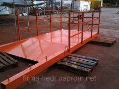 Pine edged board