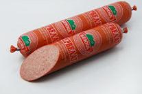 Колбасы копчёно-варёные: Сервелат, Салями Венская,