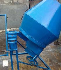 Concrete mixers are household