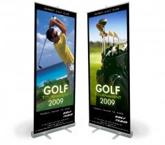 Mobile stands PREMIUM Roll Up 100x200