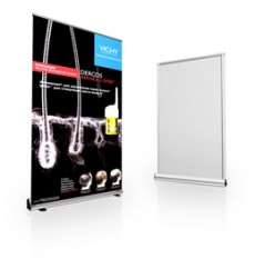 Mobile Roll Up 120x200 stands