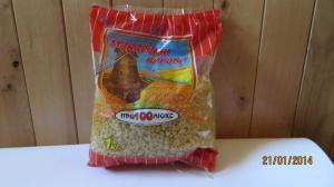 Macaroni: cockleshell. Packaging: kg polypropylene