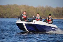 Лодка пластиковая БАРС 400