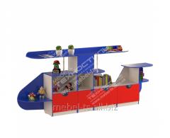 """Стенка для игрушек """"Вертолет"""""""