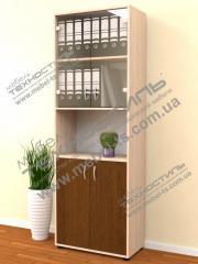 Шкаф для бумаг со стеклом (Б 174)