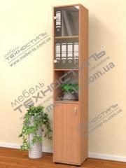 Шкаф офисный со стеклом (Б 144)