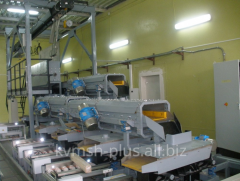 Polysilicon screening line