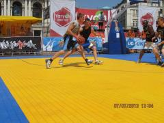 Спортивное покрытие GEODOR для улицы.