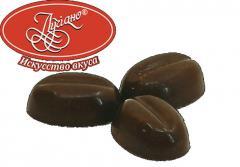 Шоколадные конфеты ручной работы Кофейное зернышко