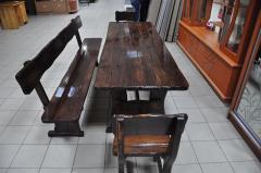 Лавочка, лавка, скамейка деревянная 2000*370