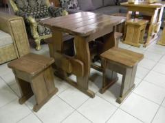 Banquette, stool wooden 330х330