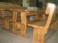 Shop, bench wooden 1200*370