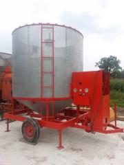 Mobile grain dryer Pedrotti