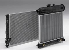 Радиатор установка Kia Cerato (Киа Черато,