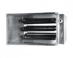 Промышленная вентиляция  Оборудование прямоугольных каналов  Электрические нагреватели  Электрические нагреватели серии SEH  Электрический нагреватель серии SEH 90-50/45