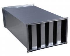 Оборудование прямоугольных каналов  Шумоглушители  Прямоугольный шумоглушитель Aerostar SMN  Прямоугольный шумоглушитель SMN 40-20 Aerostar