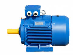 The electric motor is common industrial