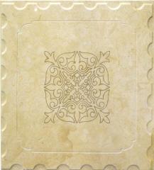 Decorative marble panels