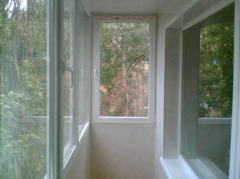 Рамы металлопластиковые, Рамы для балконов