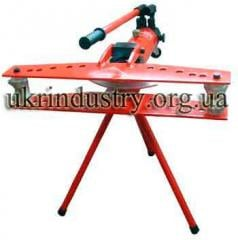 Manual hydraulic Bender for tubes with closed