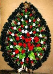 The wreath is ritual
