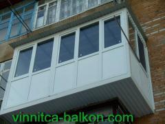 Окна балкон лоджии винница