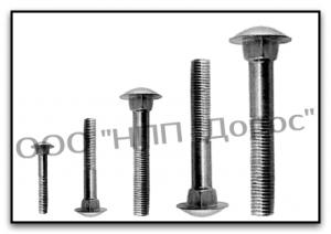 GOST 7802-81 bolt furniture with the increased