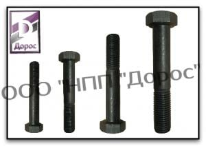 High-strength bolt of GOST 22353-77 with the