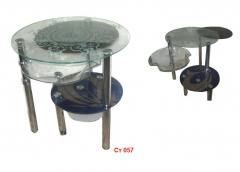 Tables glass