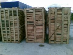 Firewood chipped hornbeam