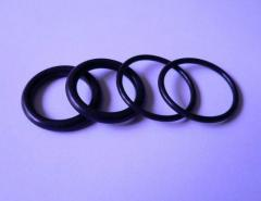 "Rings rubber ""About""-shaped"