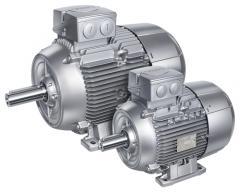 Электродвигатели Siemens типа 1LE1
