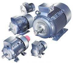 Siemens electric motors of type 1LF7