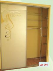 Individual facades for a sliding wardrobe