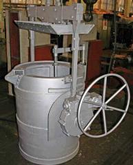 Ковш разливочный емкостью 2 тонны