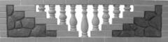 Forms for fibreglass No. 7 fences