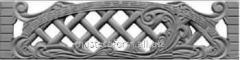 Forms for fibreglass No. 15 fences