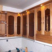 Кухонный настенный шкаф на заказ