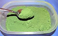 Chromium oxide pigment