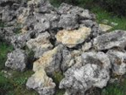 Stones Crimean for landscaping. Materials for