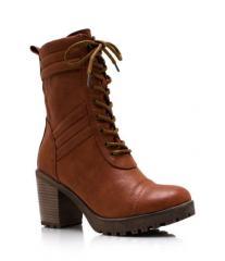 Ботинки на устойчивом каблуке Breckelle's