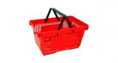 Basket plastic