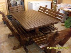 Столы и стулья дачные