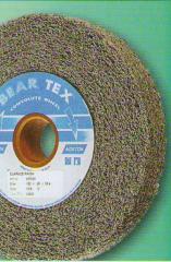 Circles of BEAR TEX 150х10х25,4 are applied to