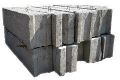 Блоки фундаментные б/у №4, 5, 6