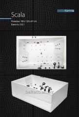 Bathtub acrylic Scala 180х120